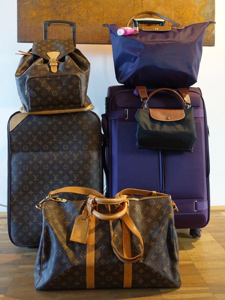 Backpack, suitcases and travel bags / Rucksack, Koffer und Reisetaschen