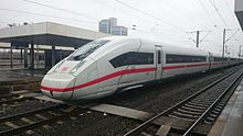 ICE Inter City Express © Deutsche Bundesbahn