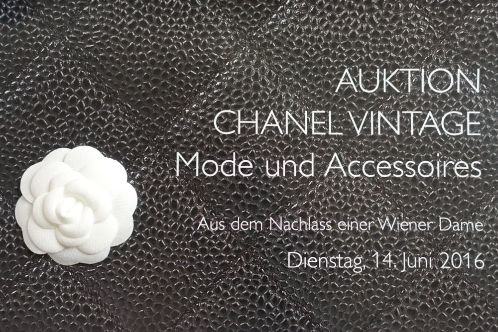 Dorotheum - CHANEL Vintage auction - Estate of a Viennese Lady