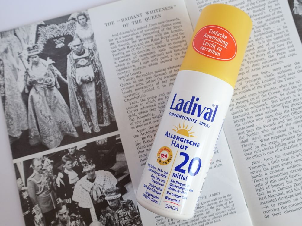 Glossybox Classy Queen - Ladival Sonnenschutz Spray / sun screen