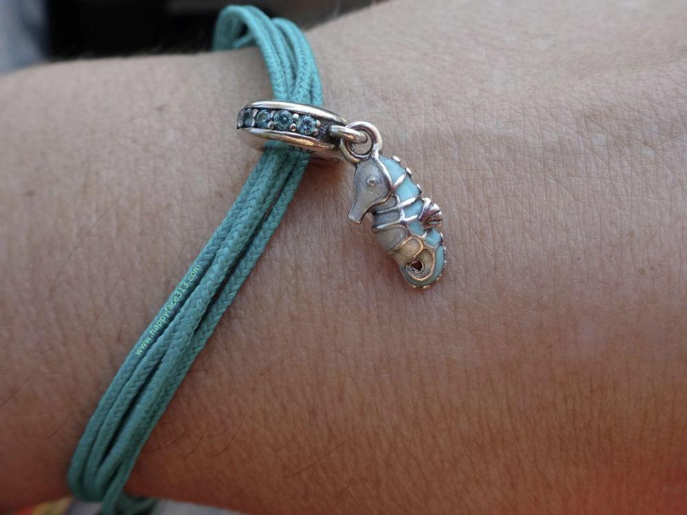 my turquoise PANDORA bracelet