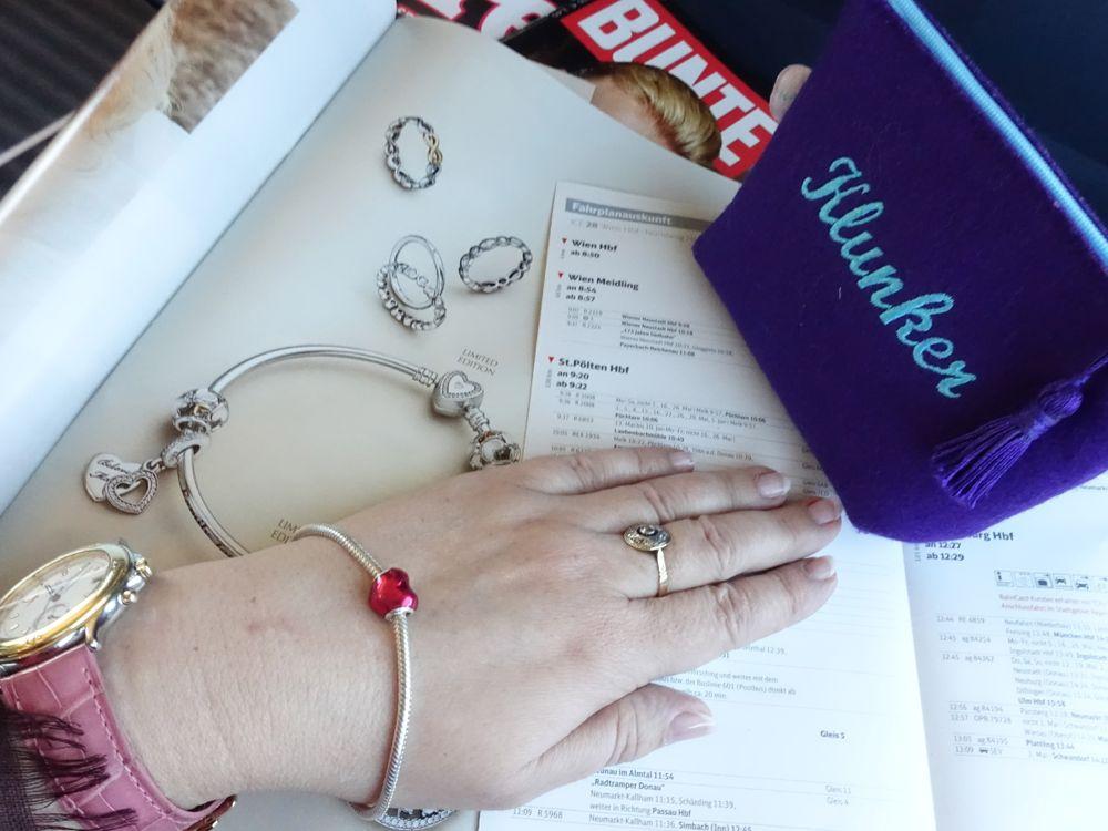 HERs and mine / IHR Armband und meines