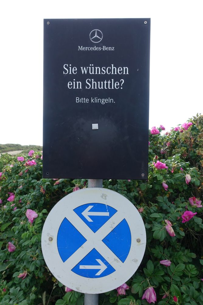 zur Sansibar fahren oder laufen? / Would you like to drive or walk to Sansibar?