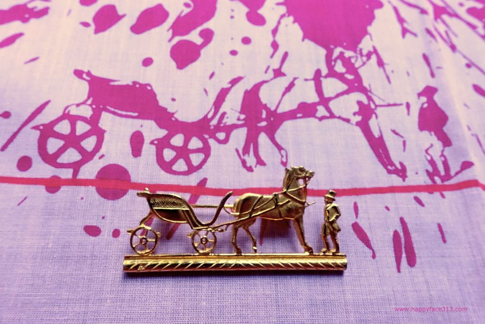 Hermès logo - carriage with horse and horseman