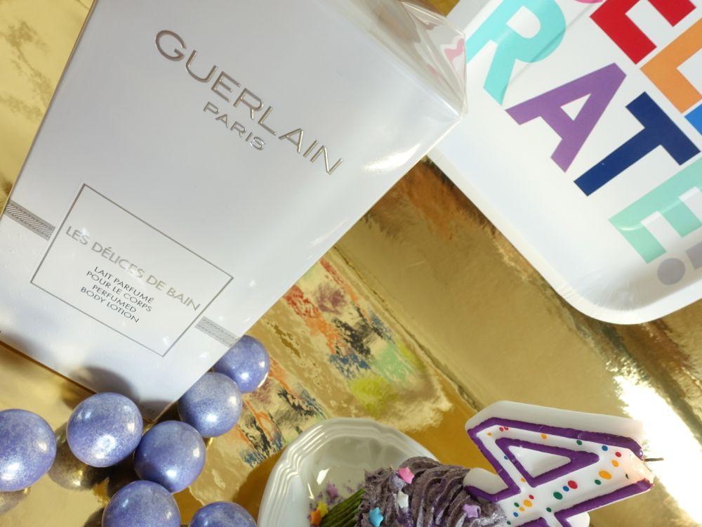 Giveaway - Guerlain Les Délices de Bain perfumed Body Lotion - Gewinnspiel