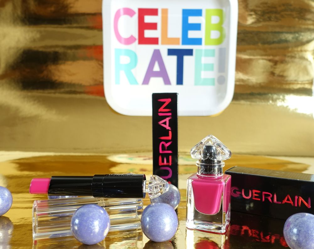 GUERLAIN La petite Robe noire lip stick and nail polish giveaway