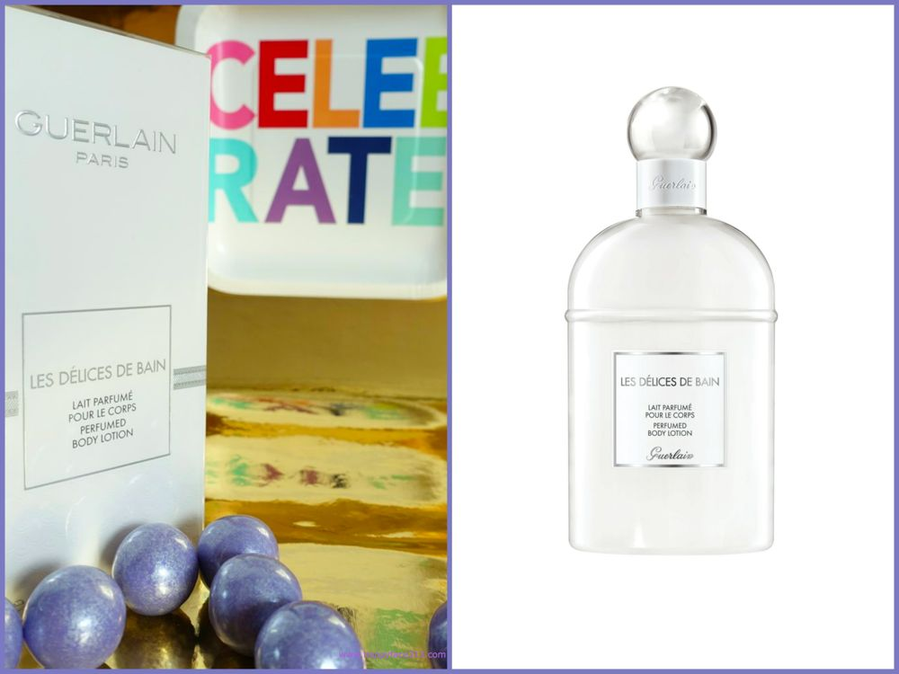 GUERLAIN Les elices de Bain perfumed Body Lotion - Giveaway
