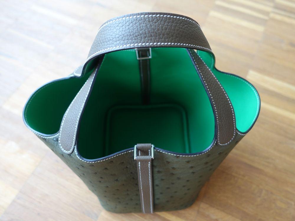 soft Hermès Picotin MM bag / die weiche Hermès Picotin MM Tasche