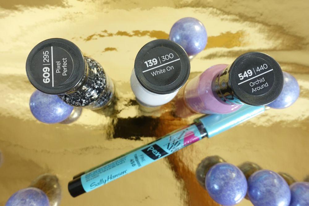 Giveaway - Sally Hansen Extreme Wear Nagellacke und Nail Art Stift