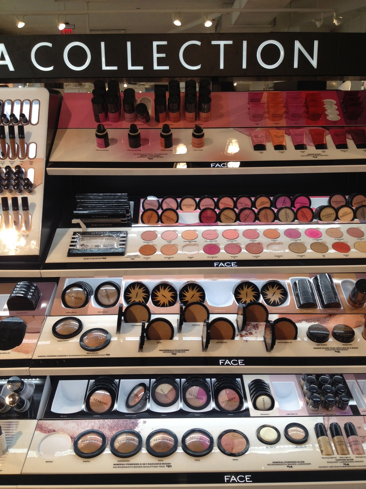 Sephora - more makeup / noch mehr Make-up