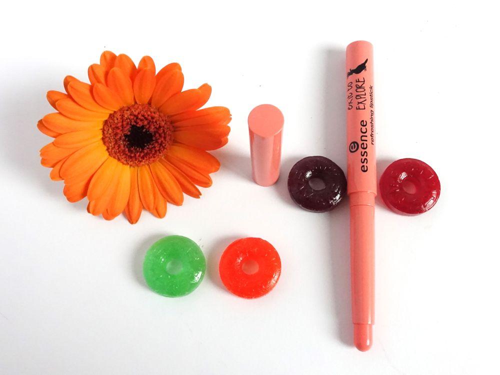 essence 02 apricot cockatoo lippenstift