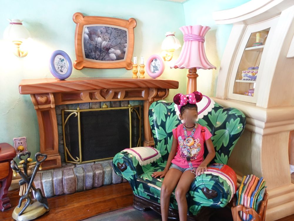 Minnie's living room
