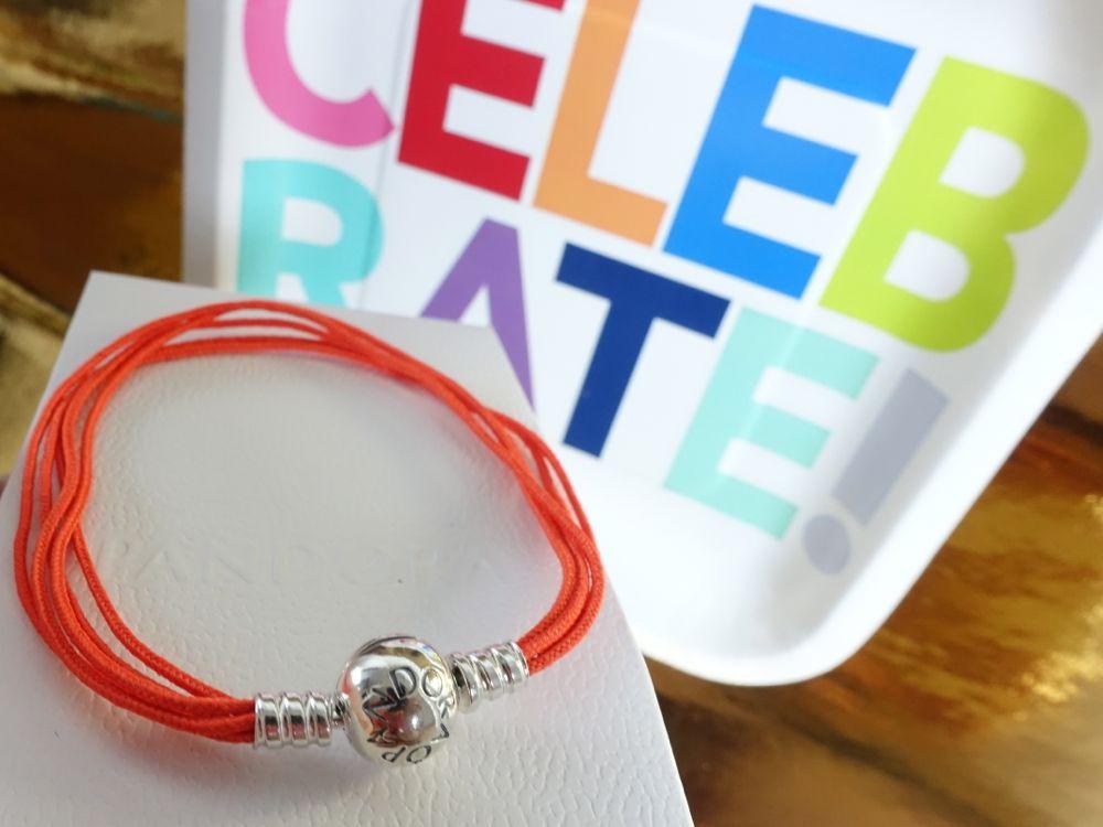 HappyFace313-The-winner-is-Armband-Pandora-orange-bracelet
