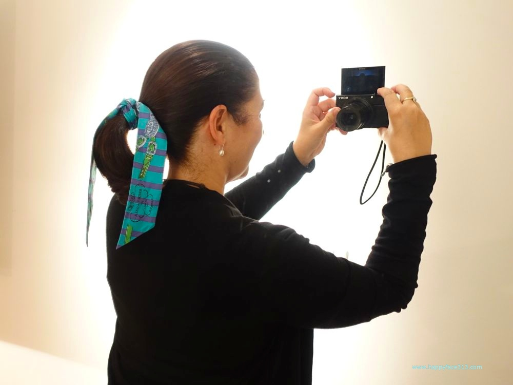 Twilly als Haarschleife gebunden - Twilly used as hair band