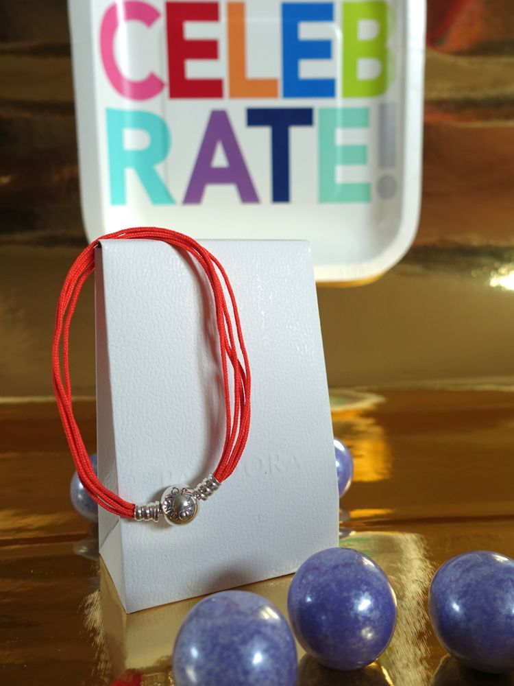 HappyFace313-the-winner-is-Armband-bracelet-orange-Pandora