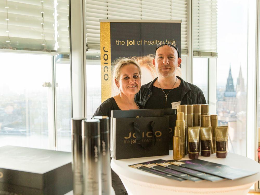 Michaela Dee und Max Höhn, Joico - © Beautypress