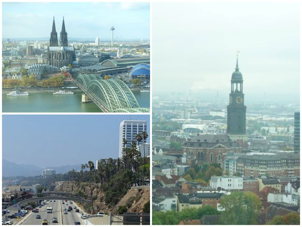Greetings from Cologne, Santa Monica and Hamburg