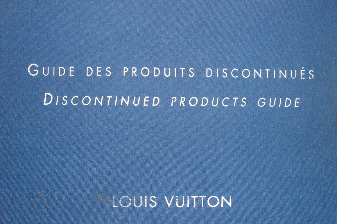 very rare LV Discontinnued Products Guide