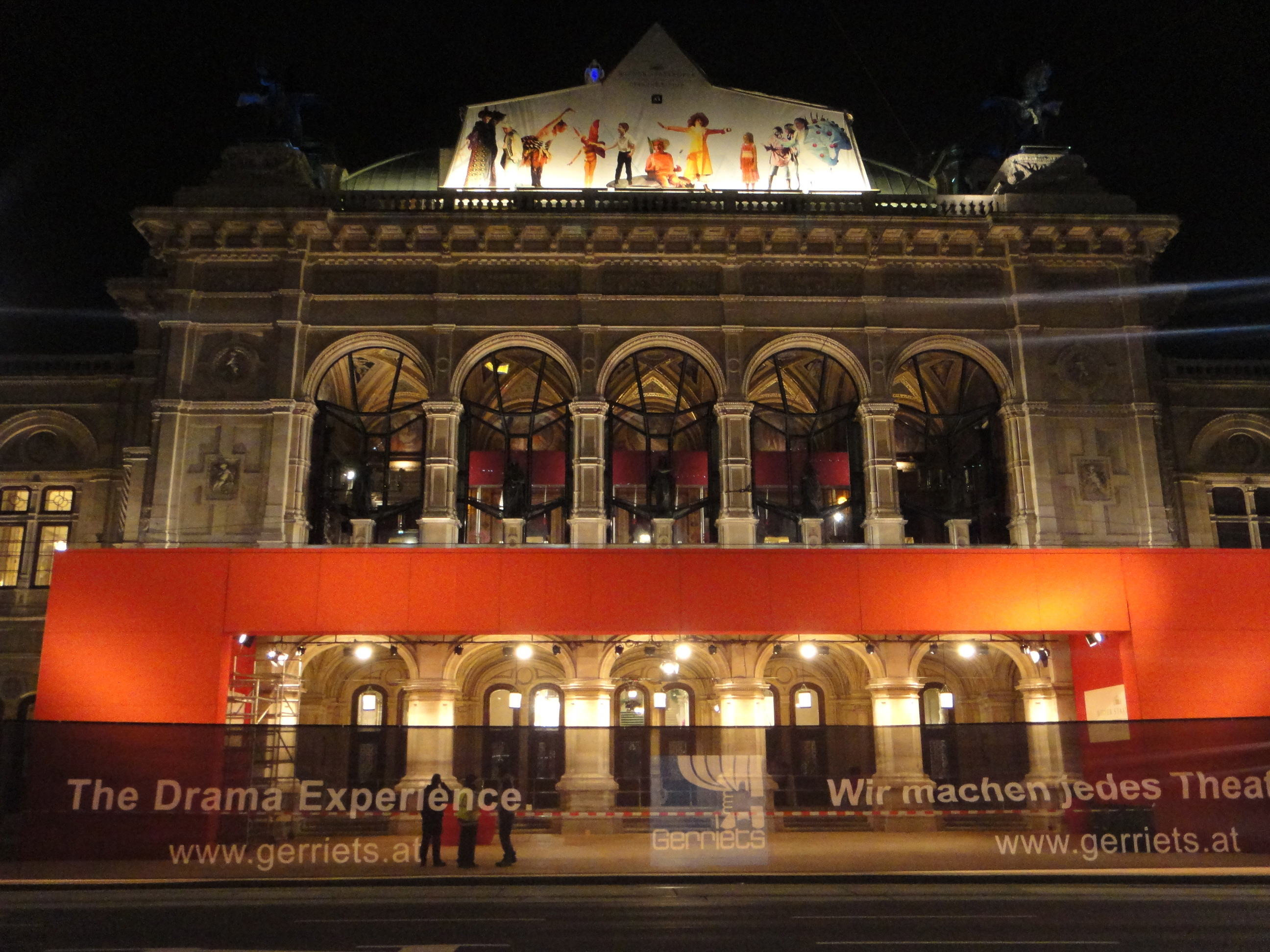 Vienna State Opera - the night before / Wiener Staatsoper - am Abend zuvor