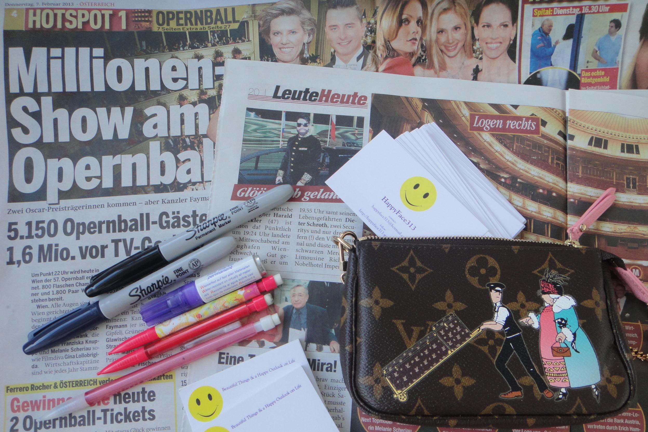 preparing for today's interviews with the debutantes / Vorbereitungen für die heutigen Gespräche mit den DebütantenInnen