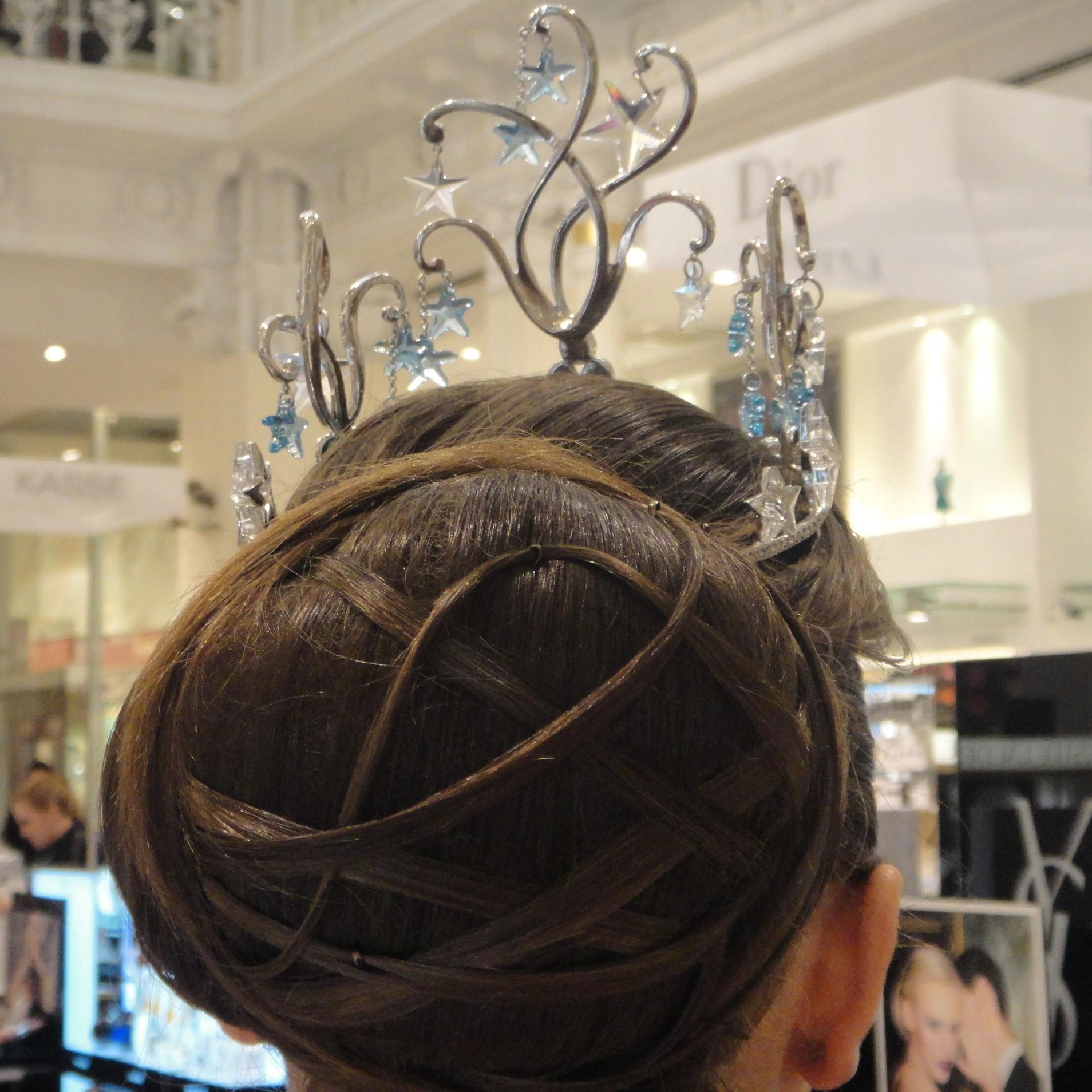 I loved Viktoria's hair! - Ich fand Viktorias Frisur so schön!
