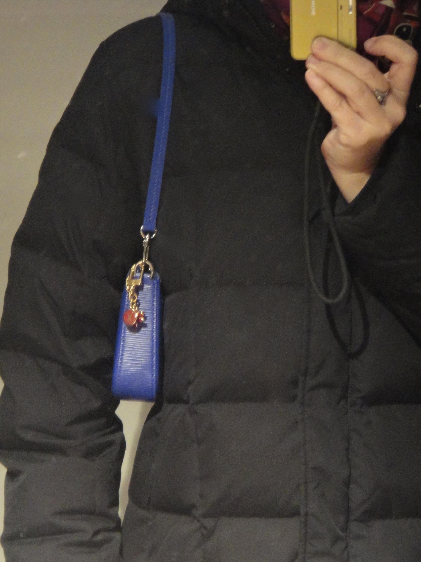 Epi figue colored Louis Vuitton Pochette Accessoires