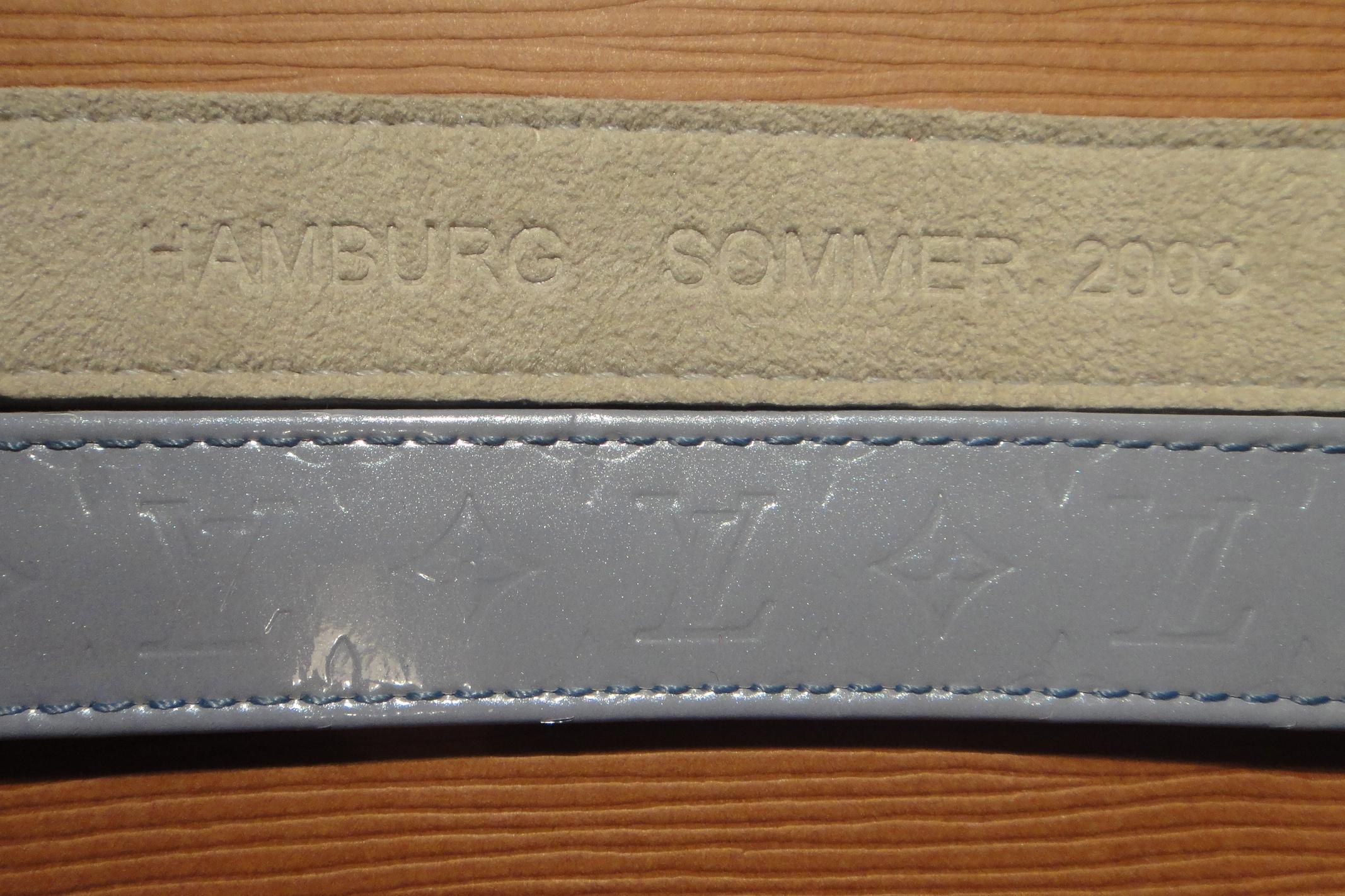 Vernis Lavender opening bracelet LV Hamburg summer 2003