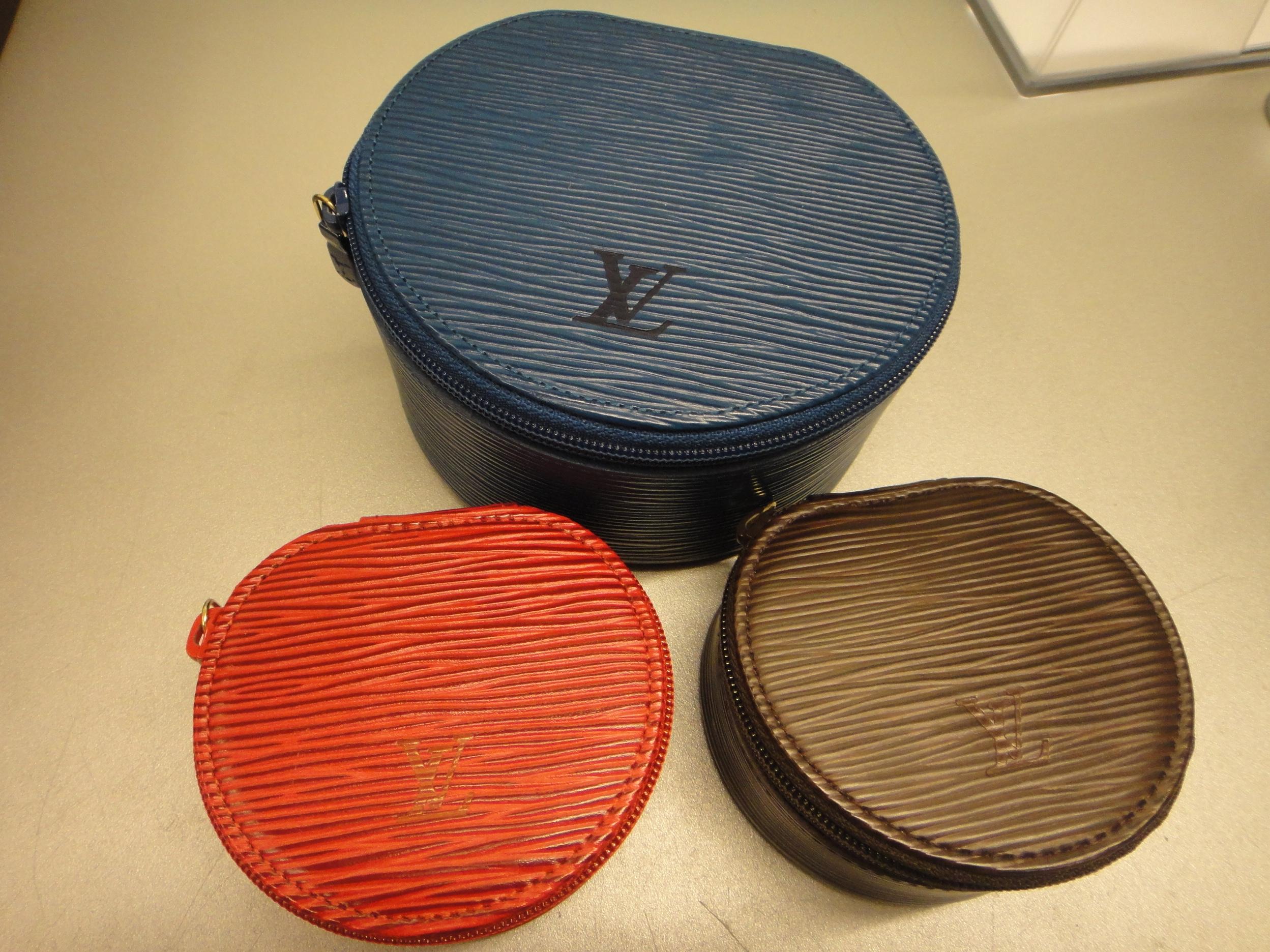 Louis Vuitton Epi Jewelry Cases