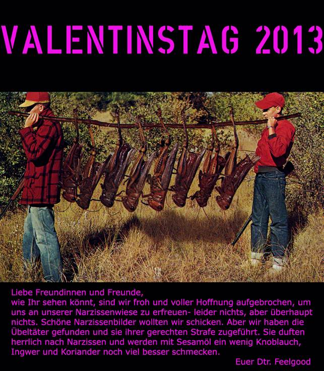 A very special Valentine's card