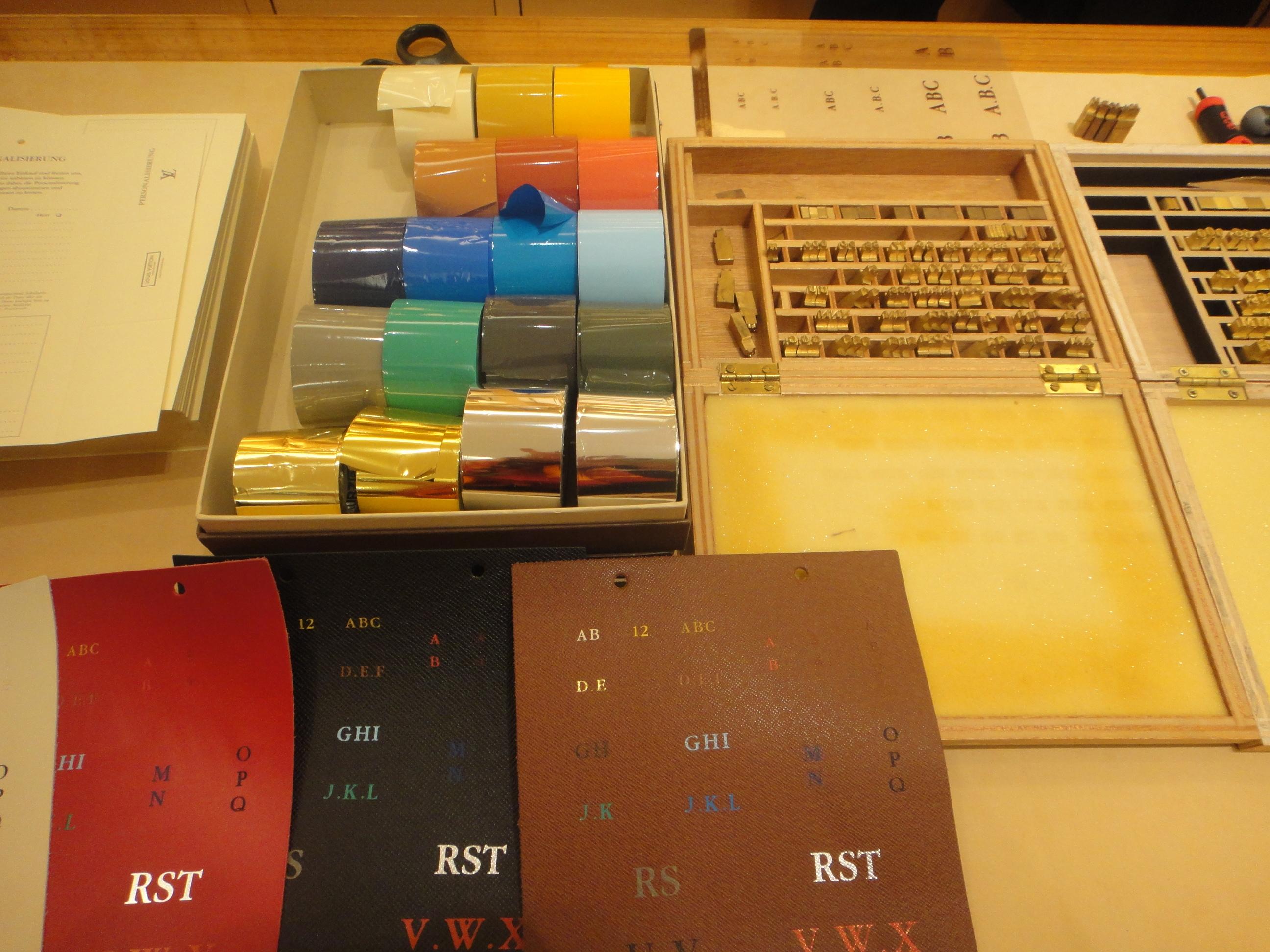 LV hot stamping