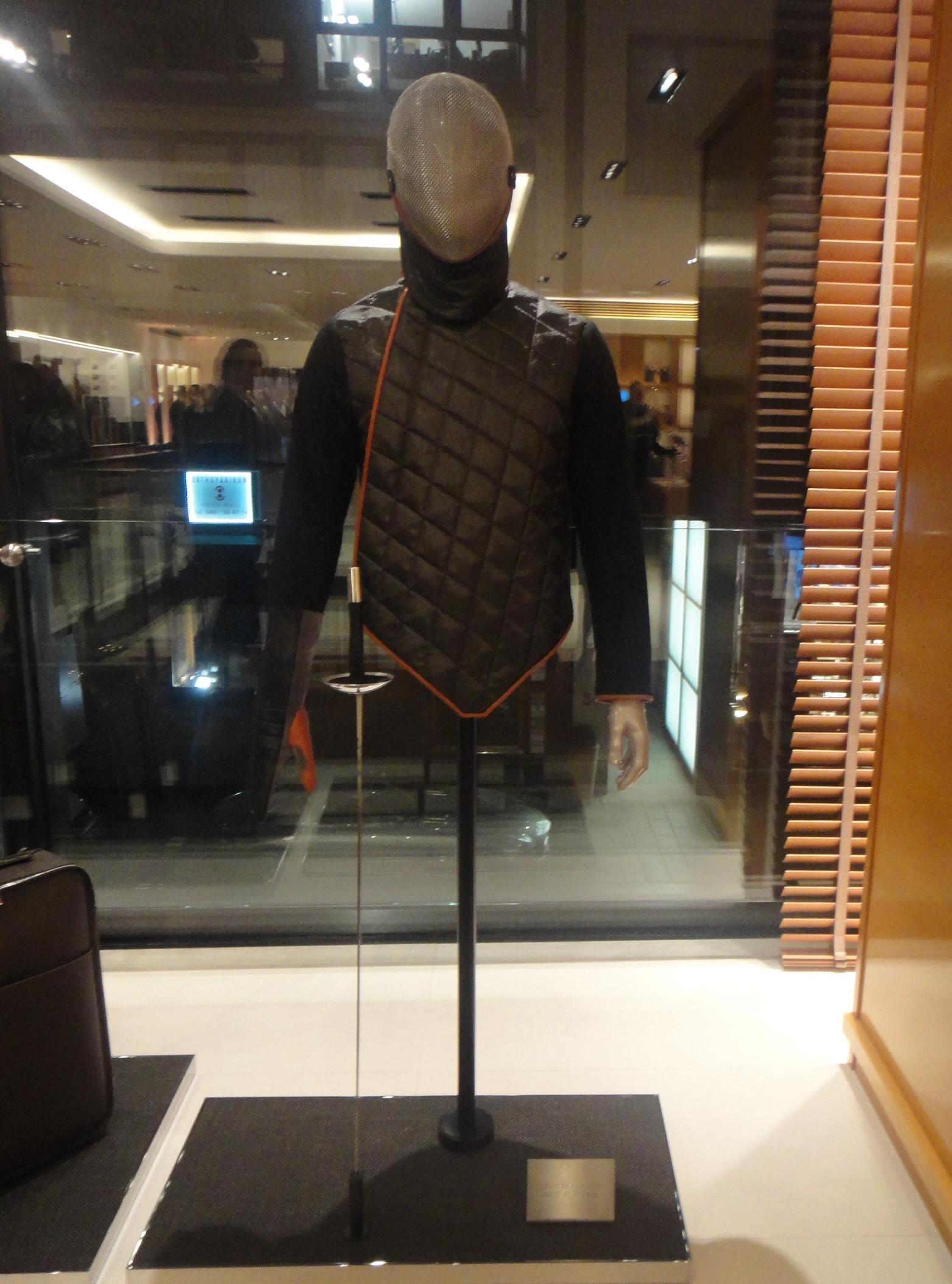 fencing gear - Louis Vuitton - Fechtausrüstung