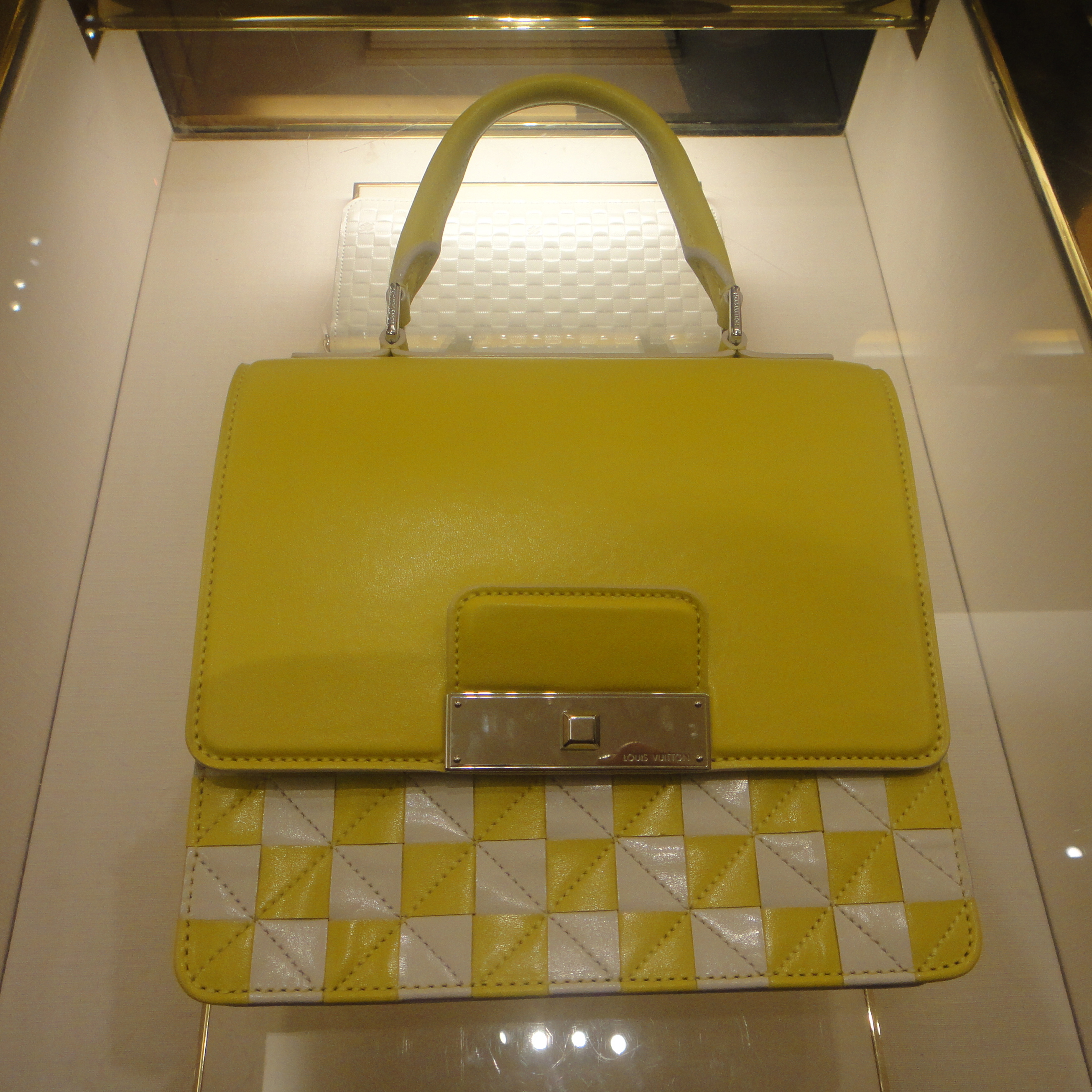 handbag from the checkered collection