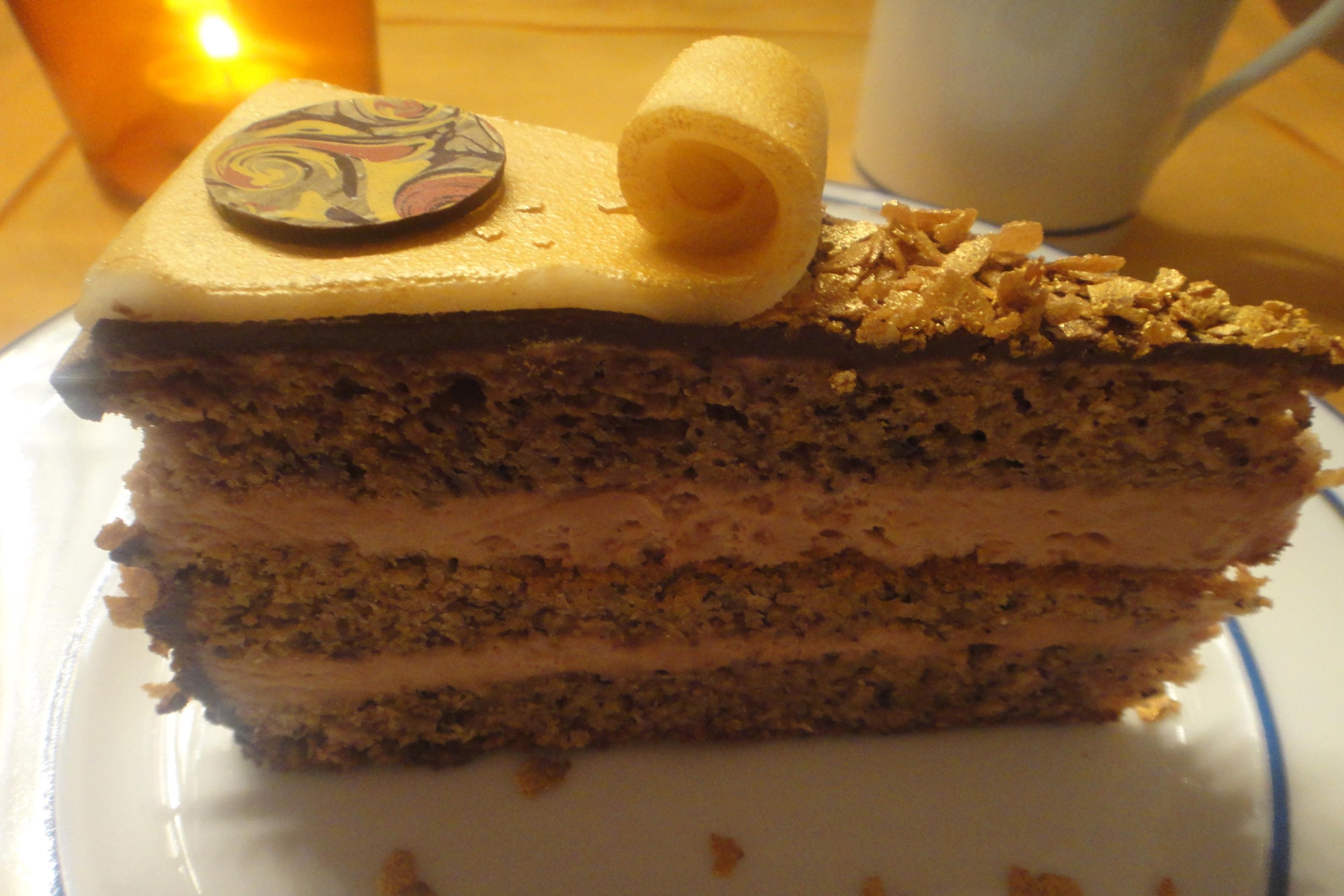 Klimt Torte Gerstner Klimt cake