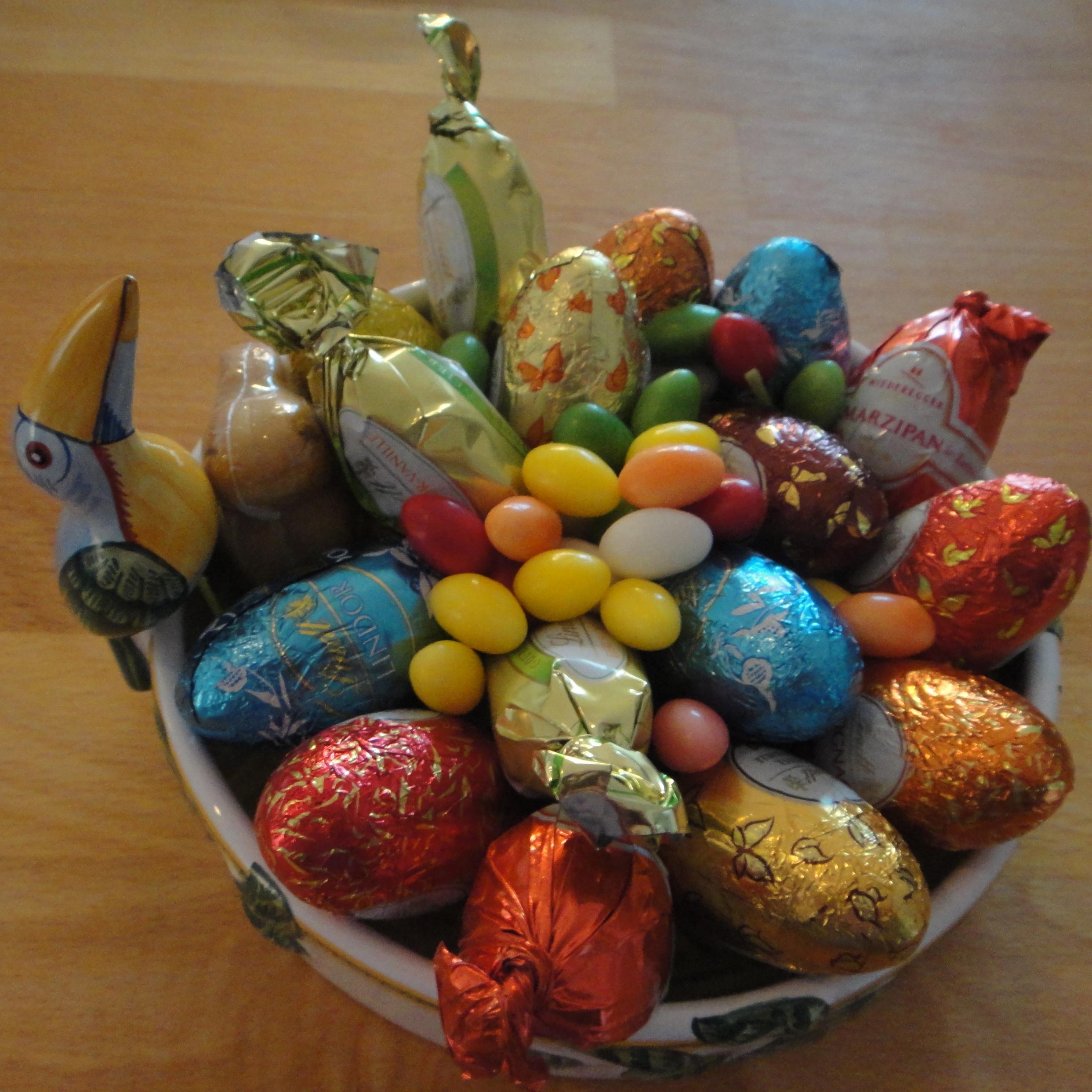 more chocolate Easter eggs / noch mehr Schokoladen Ostereier