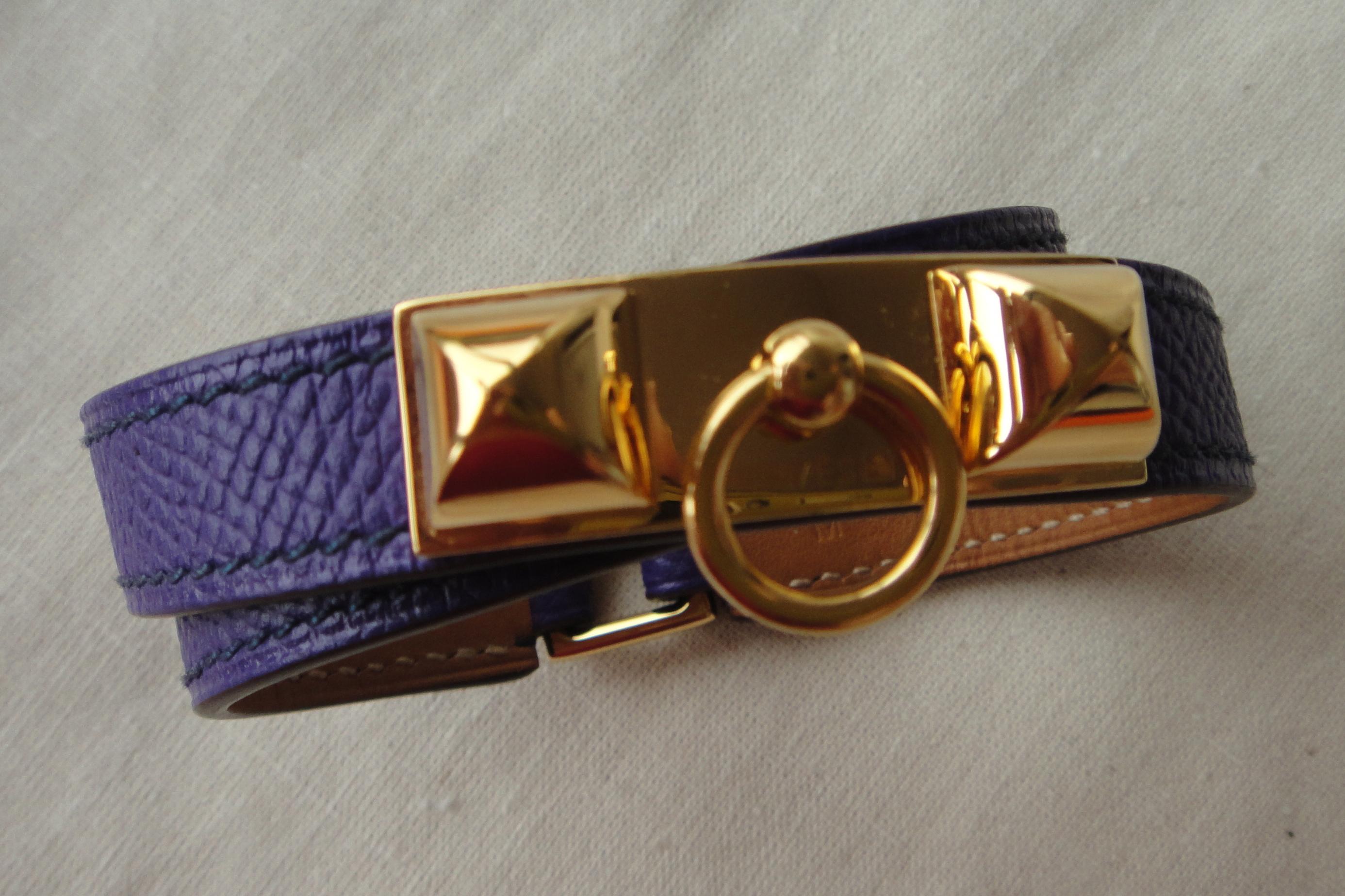 Armband Hermès iris Rivale bracelet