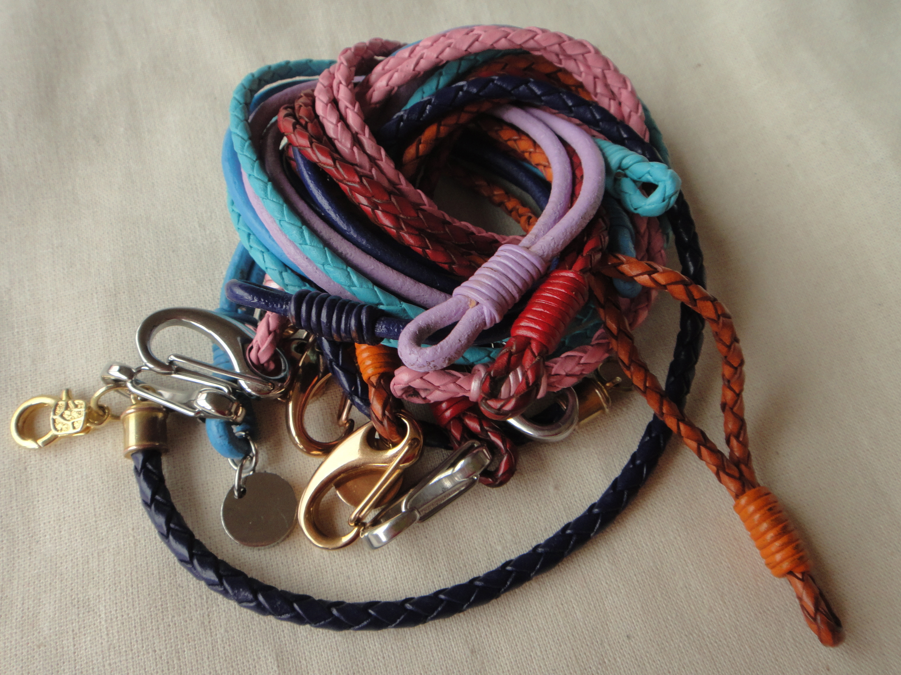 bracelets in all colors