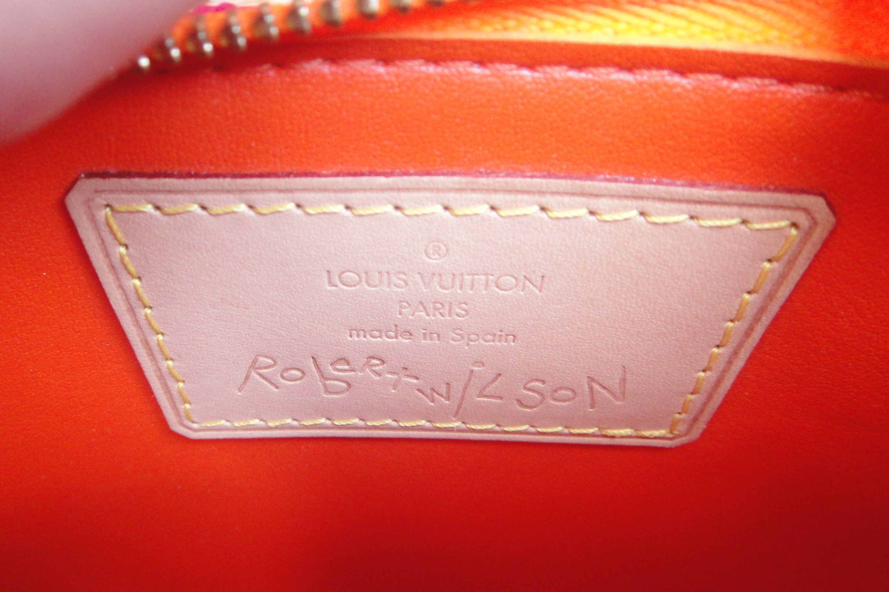 Louis Vuitton Robert Wilson tag / Schild