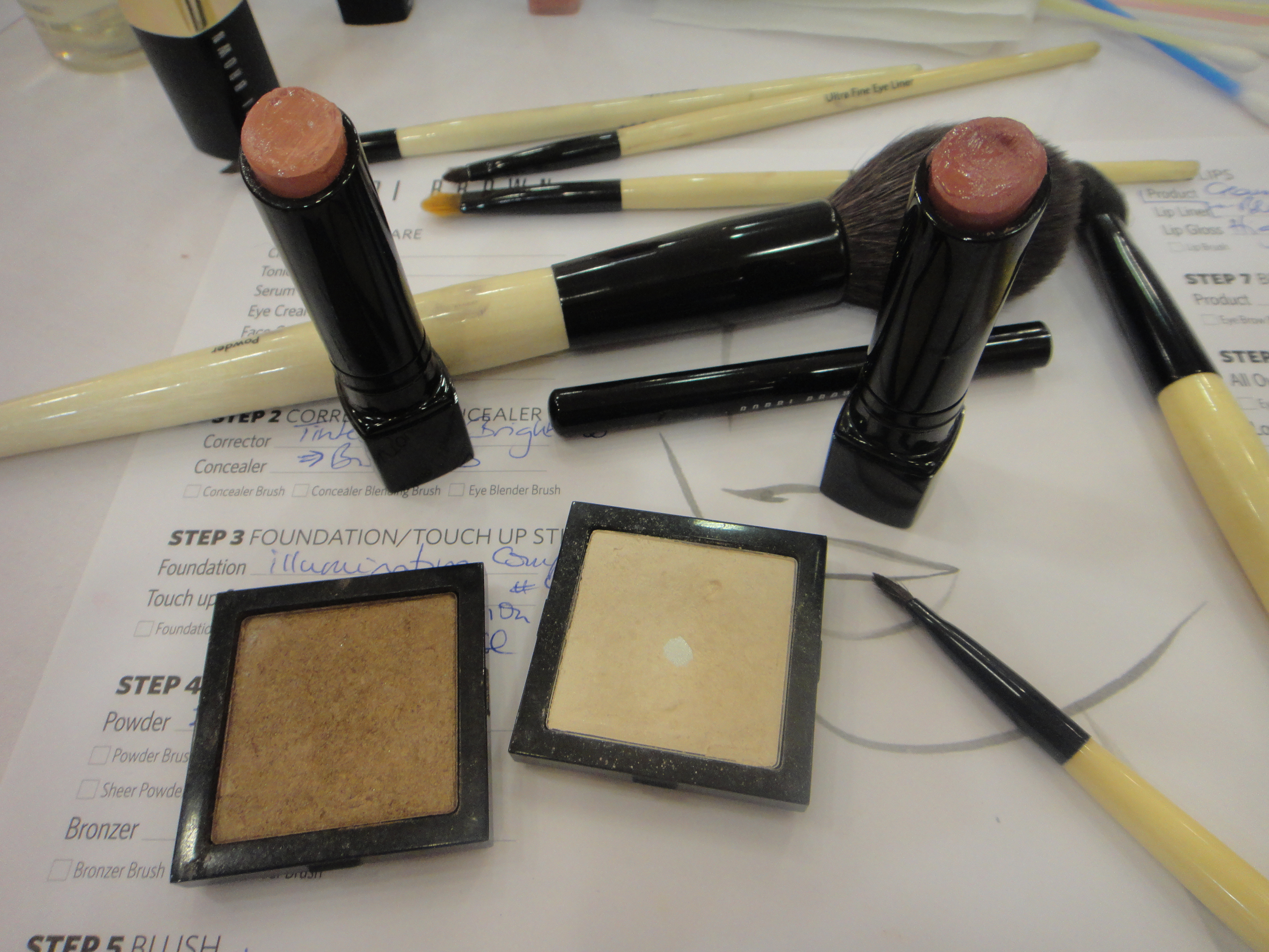 Bobbi Brown Eyeshadow & Creamy Color Lipsticks