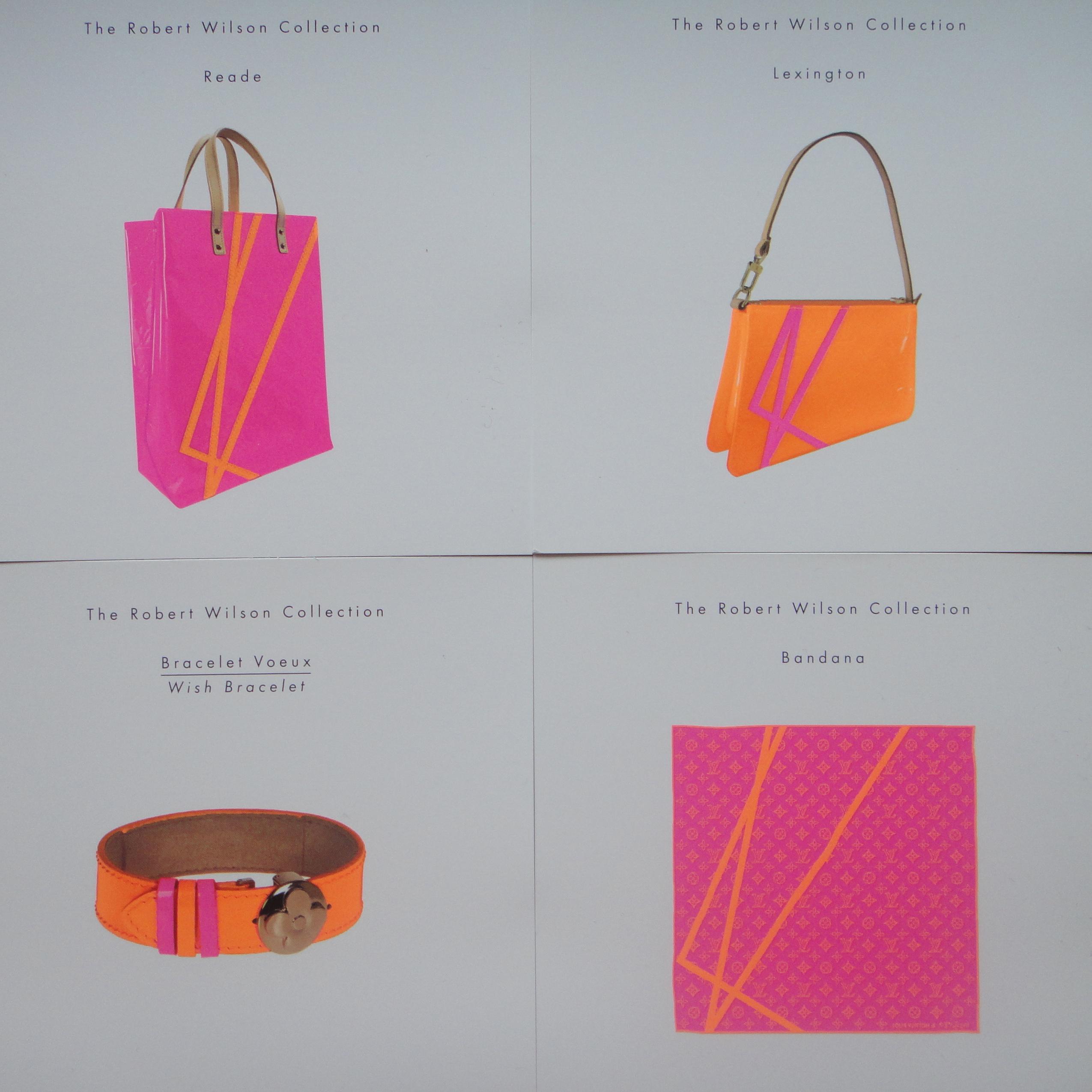 LV E-Luxury cards leaflet