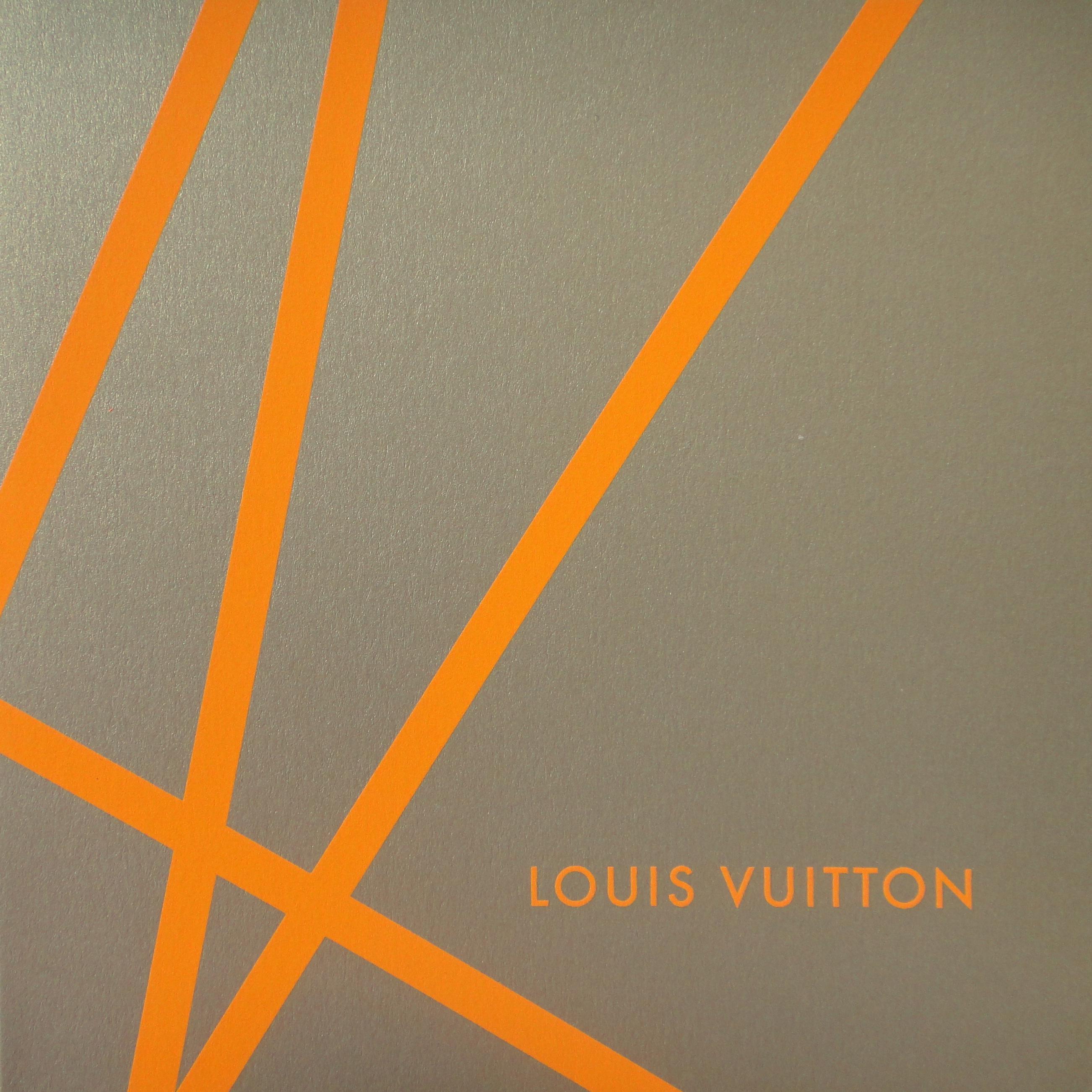 Christmas card 2002 - Louis Vuitton - Weihnachtskarte 2002