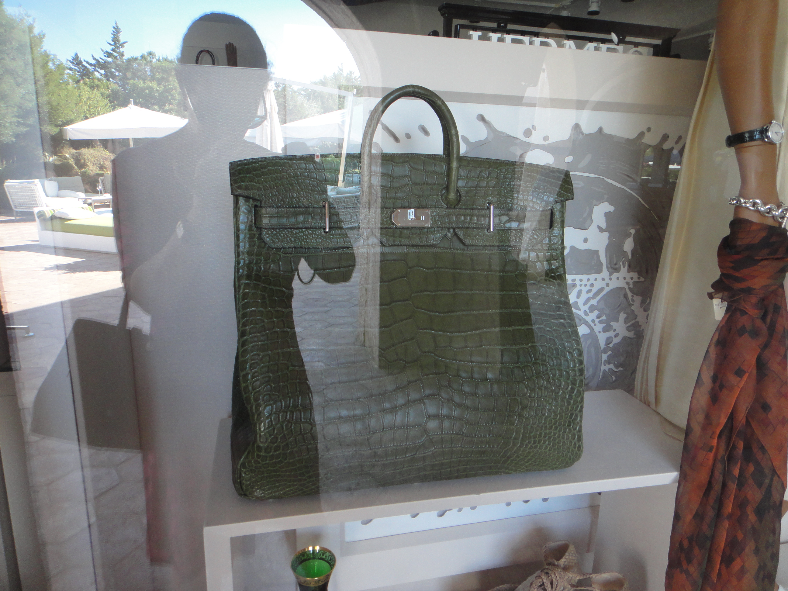 Weekly Photo Challenge Hermès Birkin bag & me