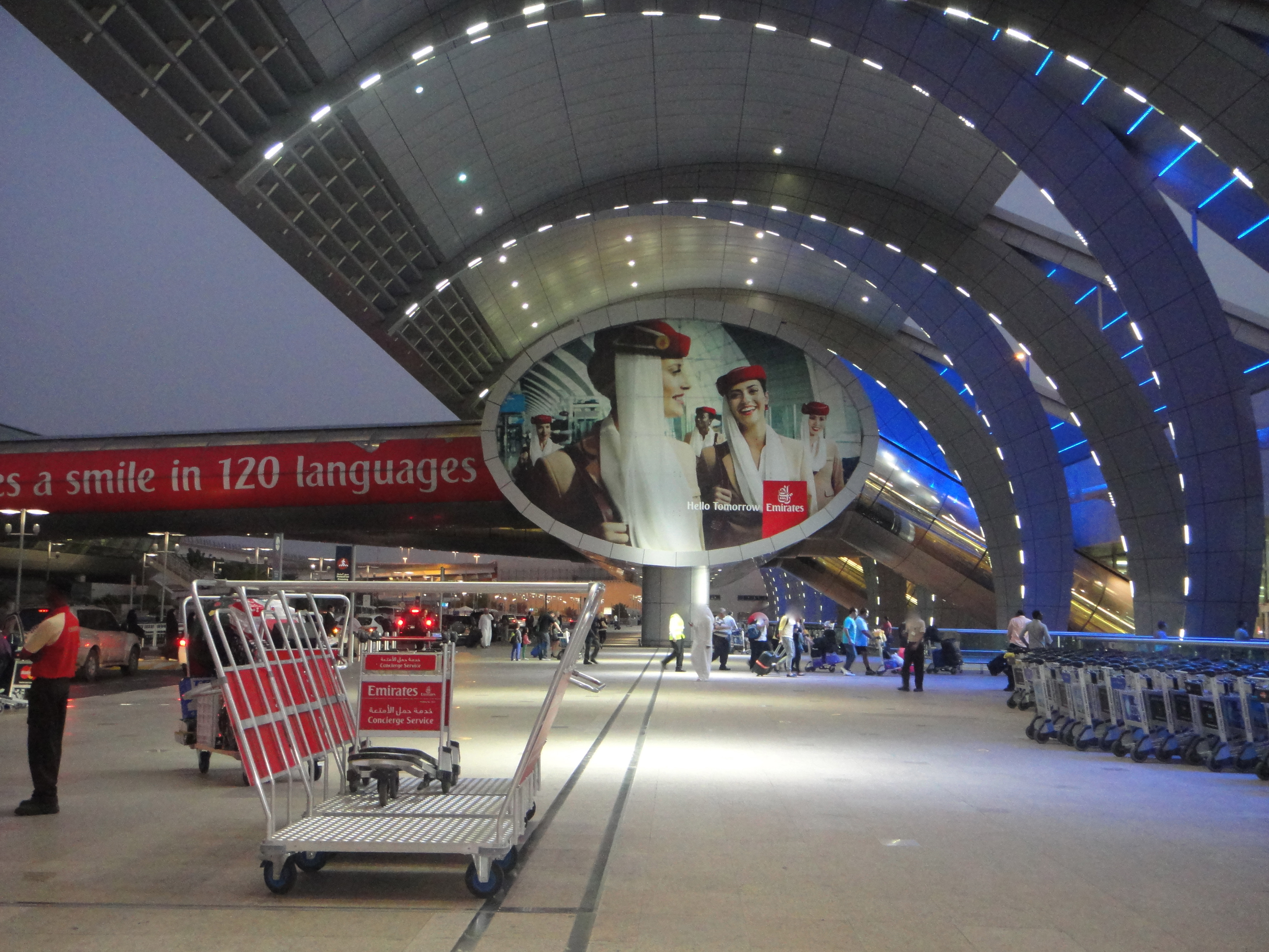 Dubai Emirates Terminal