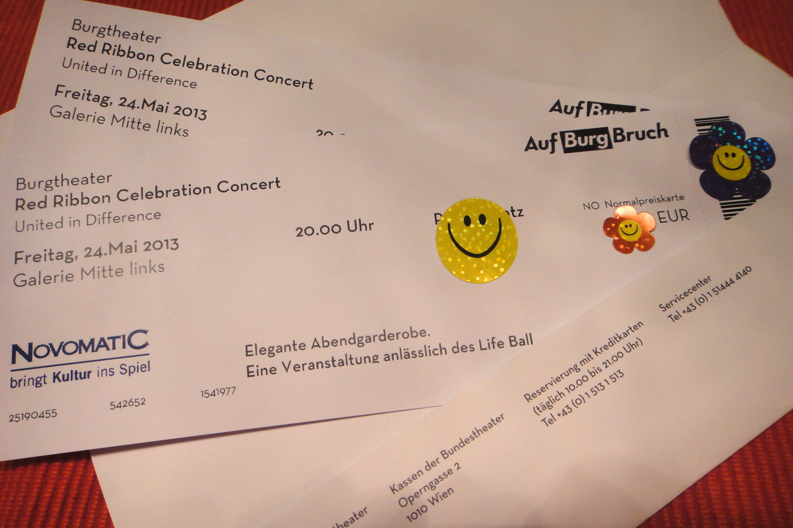 giveaway 2 tickets for Red Ribbon Celebration Concert