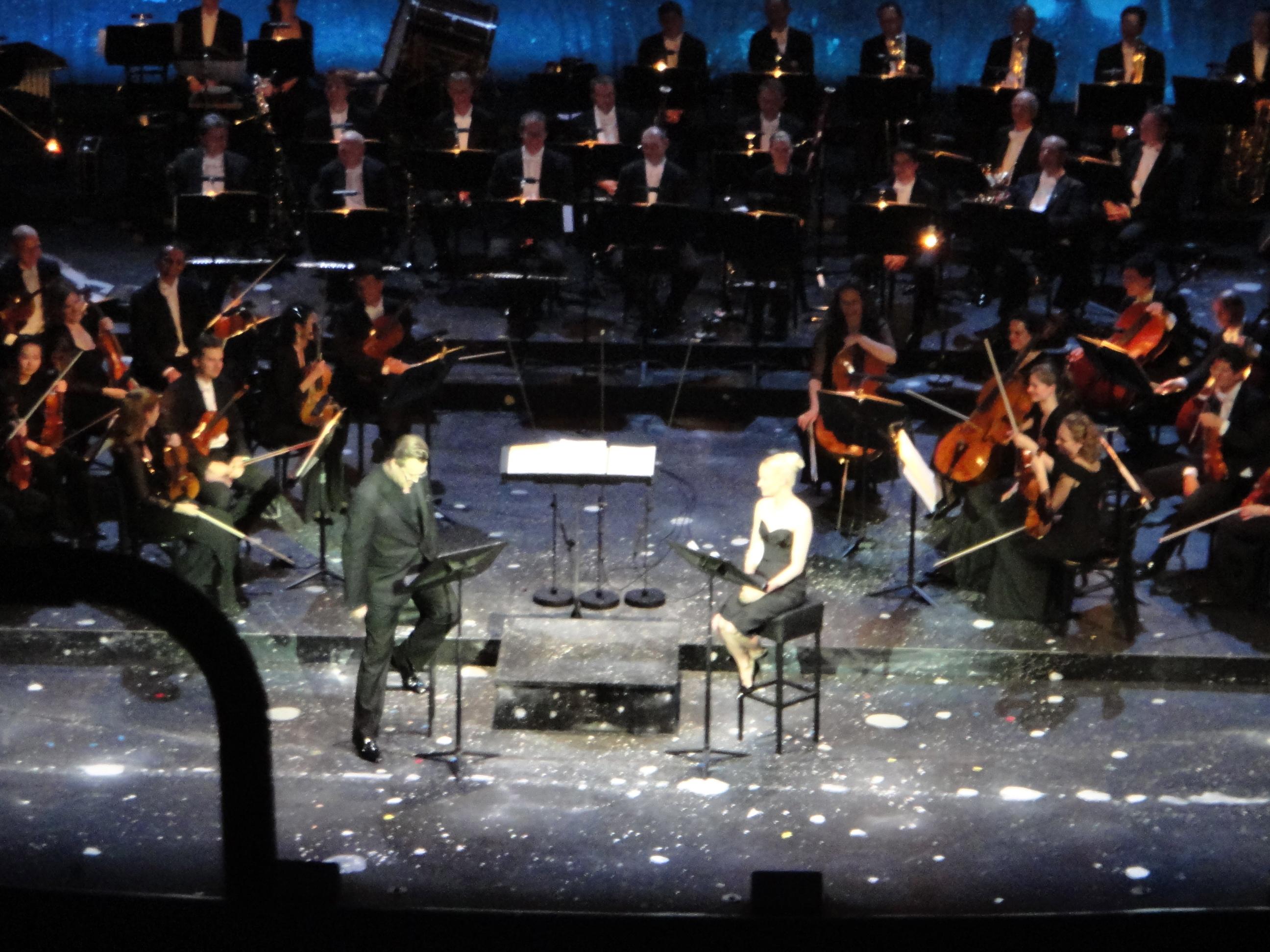 """Nicholas Ofczarek & Mavie Hoerbiger """"Die dreiundvierziste Nacht"""""""