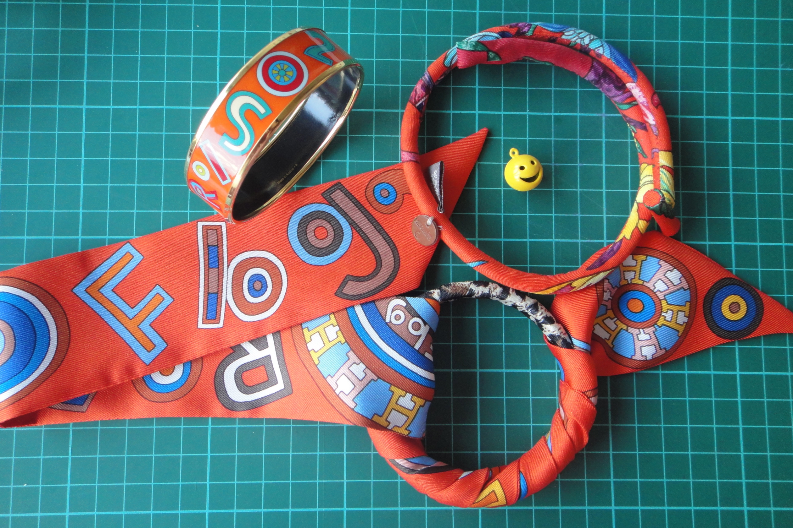 Hermès Tohu Bohu bangle & Twilly, petit h bracelet