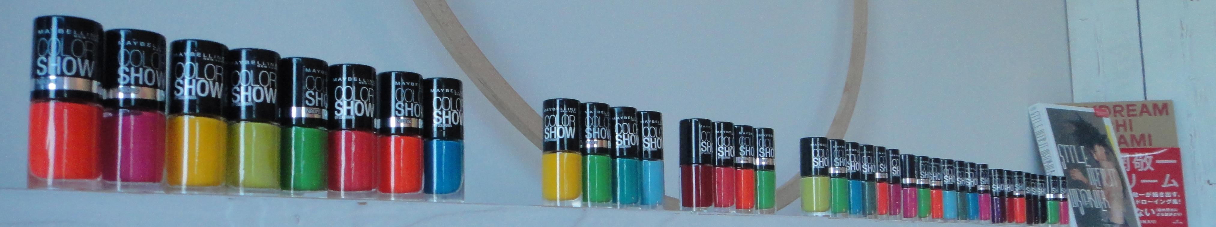Maybelline Jade Colorshow Nagellacke / nail polishes