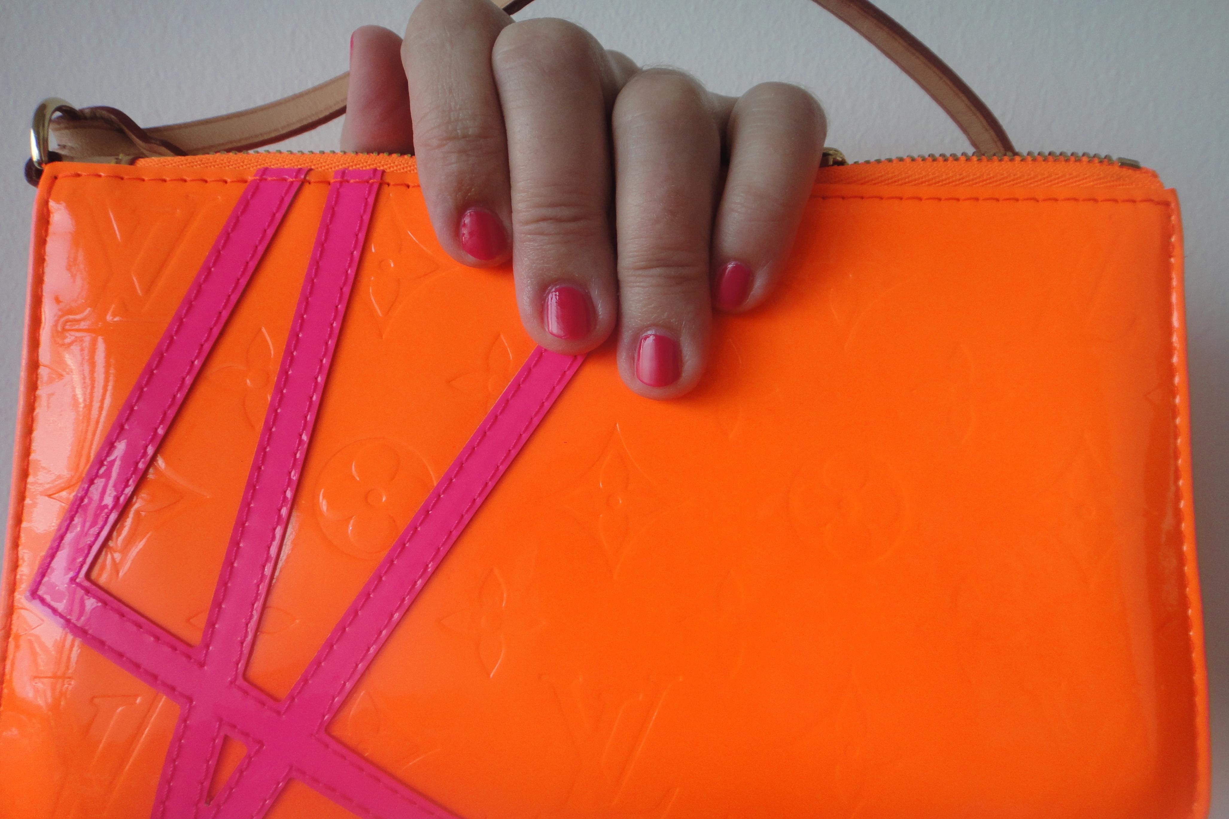 Lack passend zu meiner Vintage Louis Vuitton Fluo  / polish matching my vintage LV Fluo