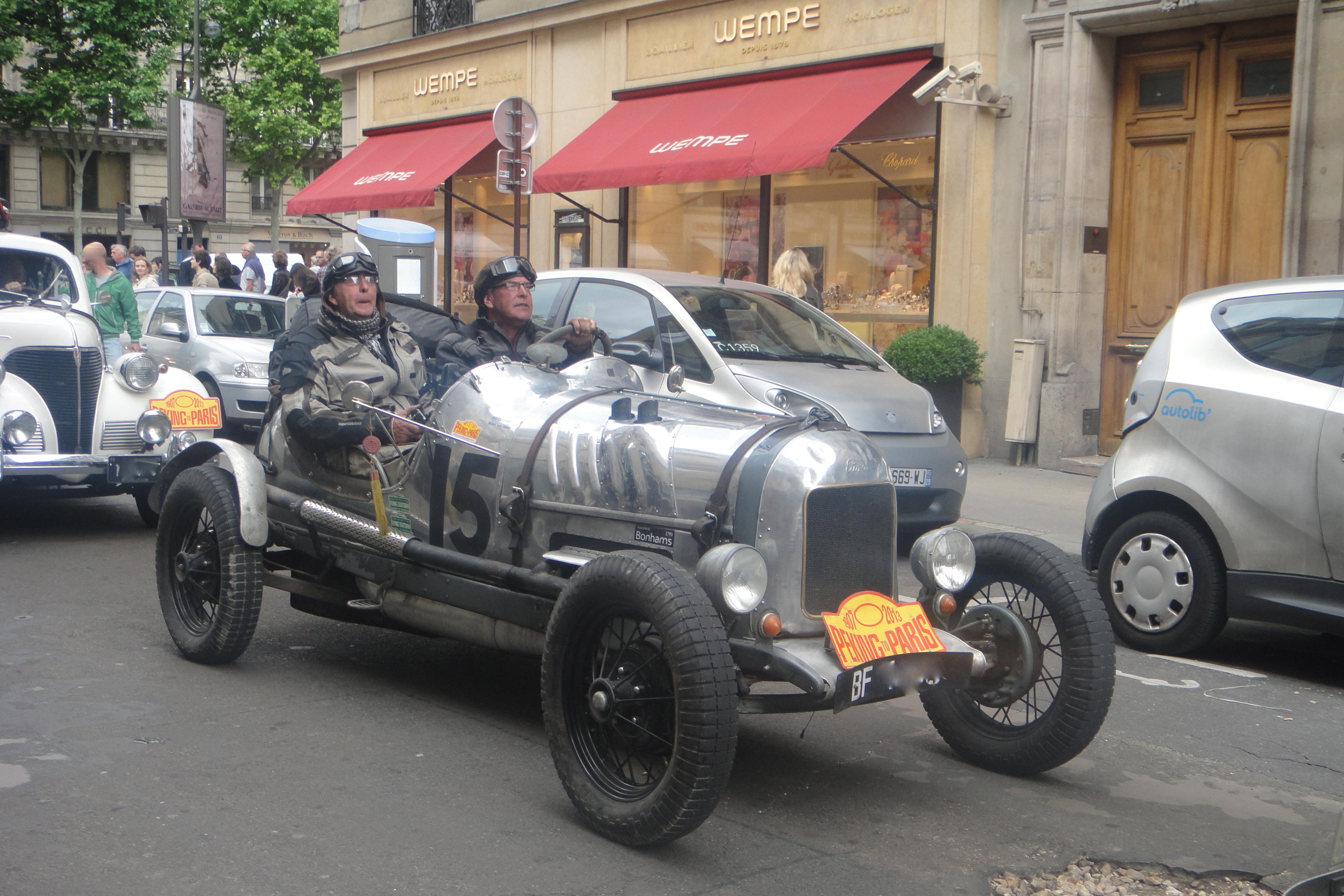 another vintage car / ein weiterer Oldtimer