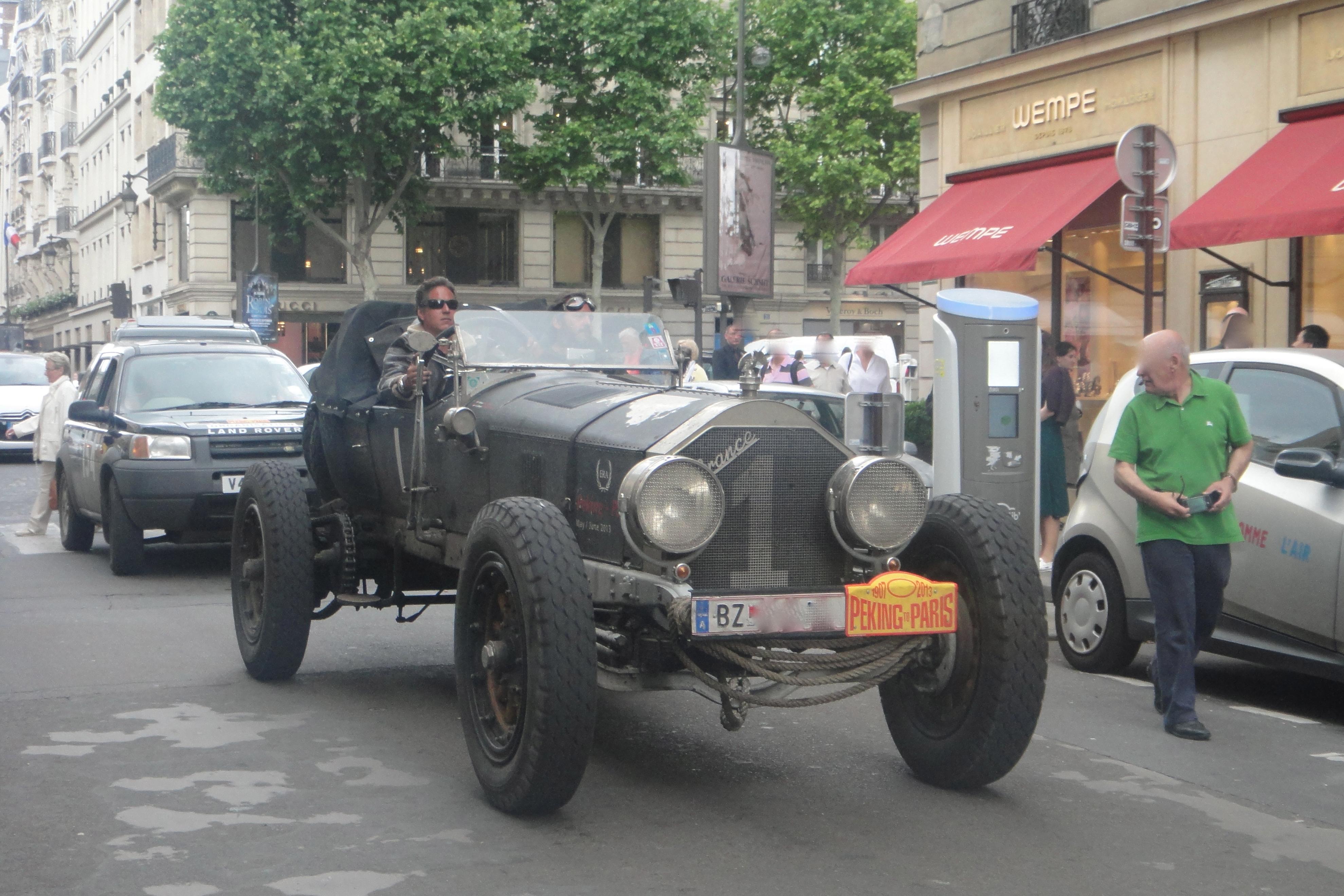 Start no.1 - Austrian participants in 1917 La France Tourer