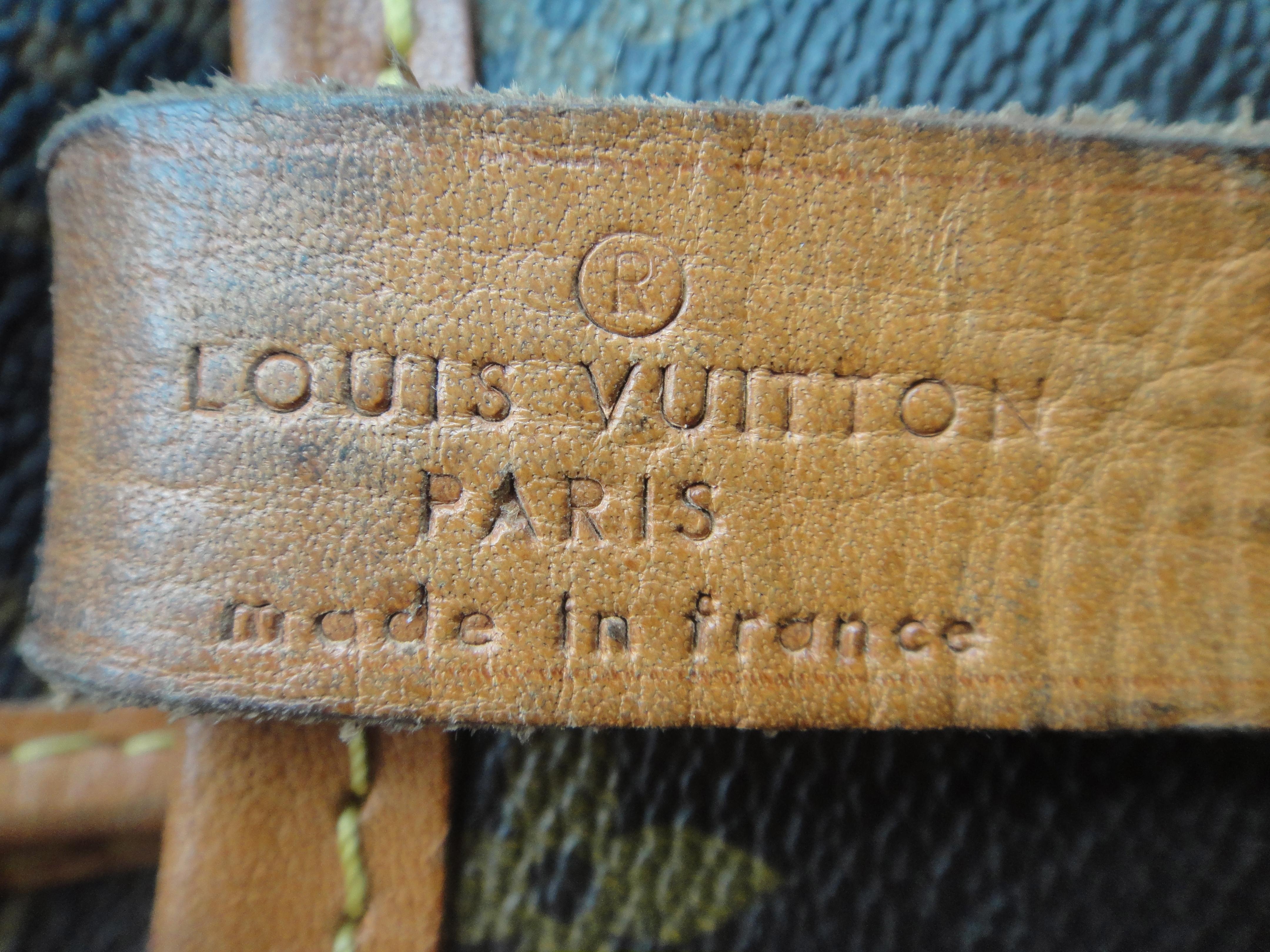 Louis Vuitton stamp